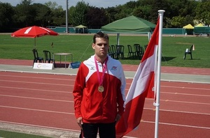 Andreas Janitsch mit Goldmedaille